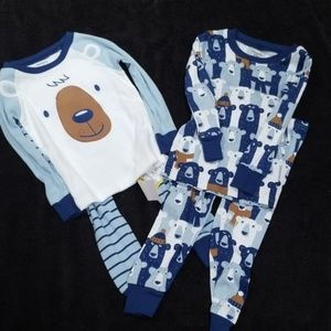 Carter's 4 piece pajama set
